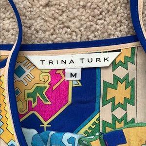 Trina Turk Tops - Trina Turk silk tank top sz med